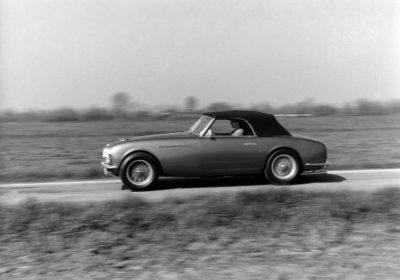 L'auto carrozzata da Frua fu presentata al Salone dell'Auto di Torino del 1950. La vettura è di proprietà di Igor Zanisi.